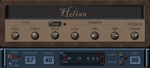 Helian 2nd Bass