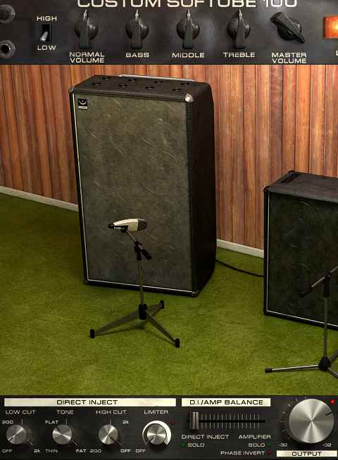 Softube Bass Amp Room - 8x12 cab