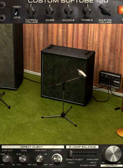 Softube Bass Amp Room - 4x12 cab