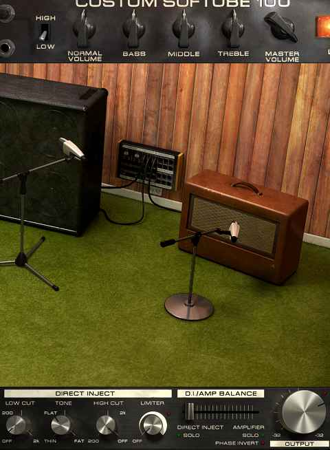 Softube Bass Amp Room - 1x12 cab