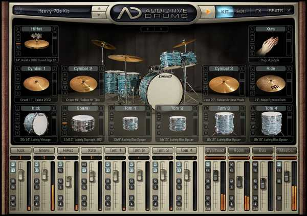 XNL Audio Addictive Drums